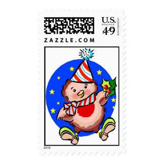 Polluelo del navidad - sello