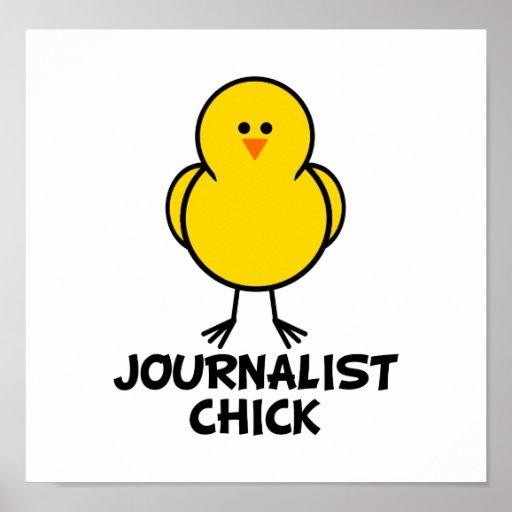 Polluelo del periodista posters