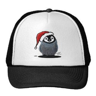 Polluelo del pingüino del navidad gorro de camionero