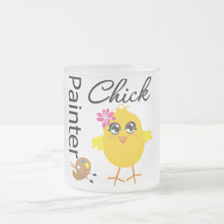 Polluelo del pintor taza