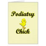 Polluelo del Podiatry Felicitaciones