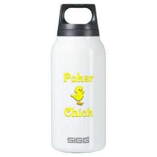 Polluelo del póker botella isotérmica de agua
