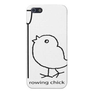 Polluelo del Rowing, ropa del rowing para las muje iPhone 5 Funda
