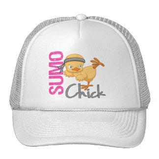 Polluelo del sumo gorras