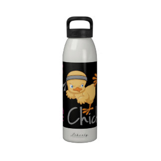 Polluelo del Taekwondo Botella De Agua