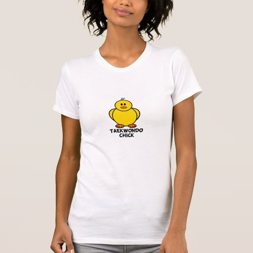 Polluelo del Taekwondo Camisetas