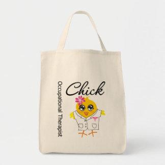 Polluelo del terapeuta profesional bolsa tela para la compra