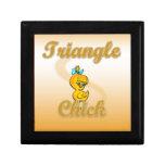 Polluelo del triángulo cajas de regalo