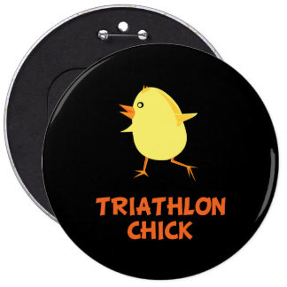 Polluelo del Triathlon Pin Redondo 15 Cm