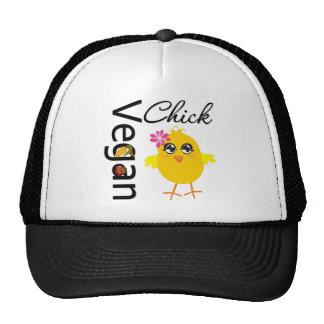 Polluelo del vegano gorras
