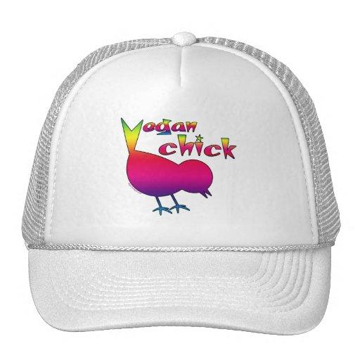 Polluelo del vegano gorro de camionero