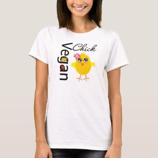 Polluelo del vegano playera
