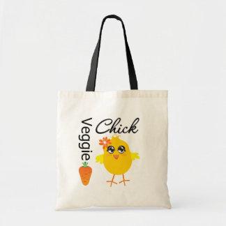 Polluelo del Veggie Bolsas De Mano