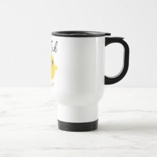 Polluelo del Veggie Tazas De Café