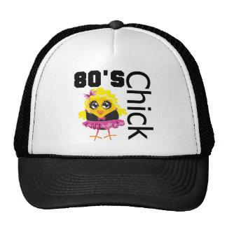 Polluelo divertido 80s gorra