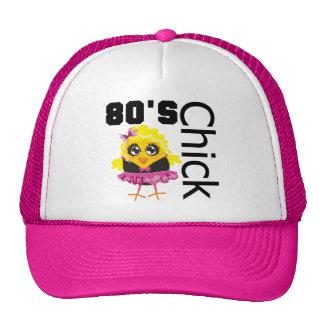 Polluelo divertido 80s gorras de camionero