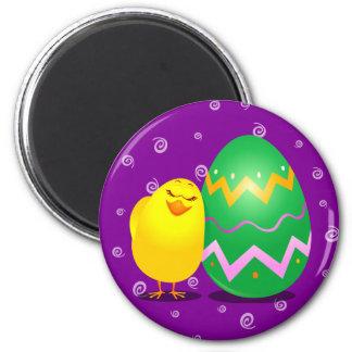Polluelo divertido de Pascua, imán