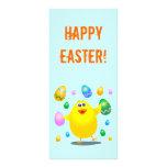 Polluelo divertido de Pascua, tarjeta del estante Tarjeta Publicitaria Personalizada