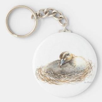 Polluelo el dormir llavero personalizado