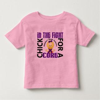 Polluelo en la enfermedad de Alzheimer de la lucha Camiseta