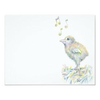 Polluelo encantador comunicados personales