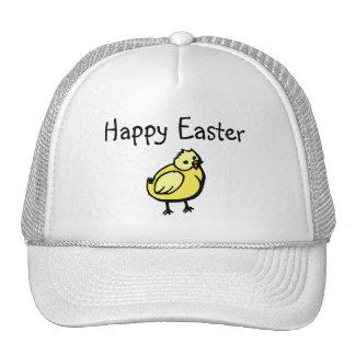 Polluelo feliz de Pascua Gorro De Camionero