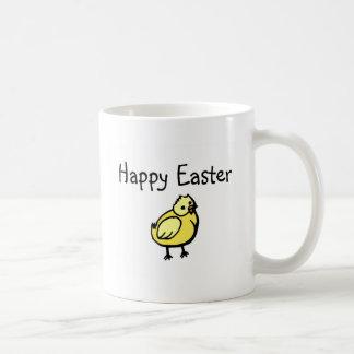Polluelo feliz de Pascua Taza