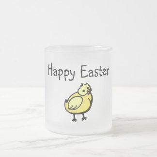 Polluelo feliz de Pascua Taza De Café