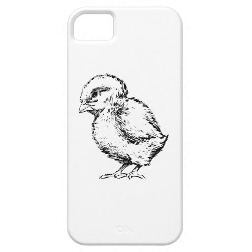 Polluelo Funda Para iPhone 5 Barely There