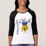 Polluelo futuro de la policía camiseta
