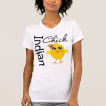 Polluelo indio camisetas