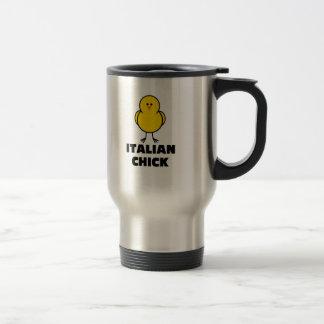 Polluelo italiano tazas