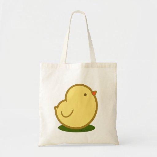 Polluelo lindo bolsa tela barata