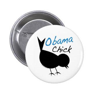 Polluelo Merch de Obama Pin Redondo 5 Cm