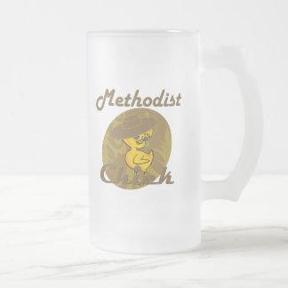 Polluelo metodista #6 taza cristal mate