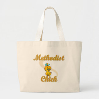 Polluelo metodista bolsas lienzo