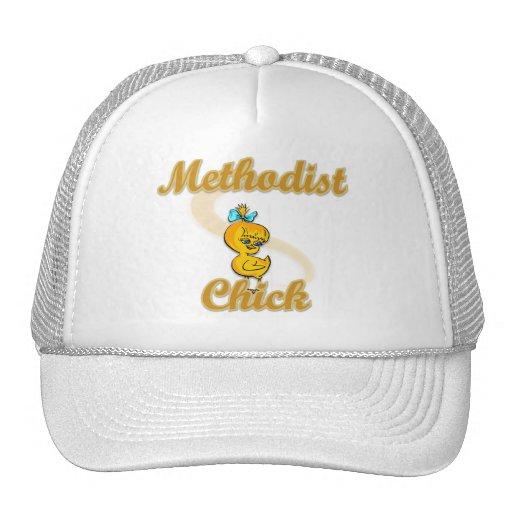 Polluelo metodista gorros bordados