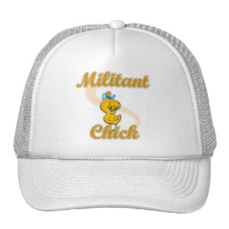 Polluelo militante gorras de camionero