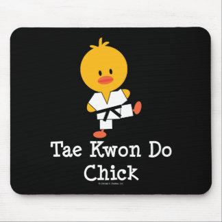 Polluelo Mousepad del Taekwondo