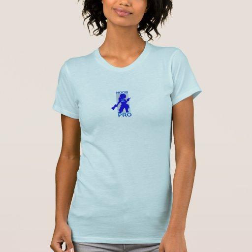 Polluelo Noob a la favorable camiseta