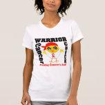 Polluelo oral del guerrero del cáncer camiseta