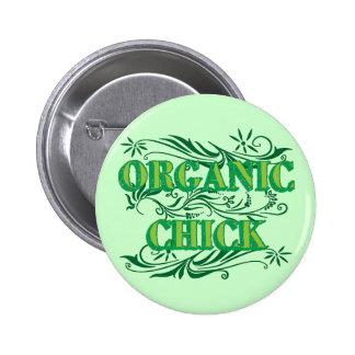 Polluelo orgánico pin