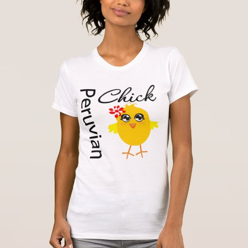 Polluelo peruano camiseta