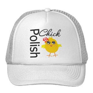 Polluelo polaco gorras