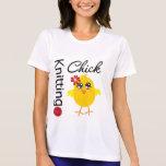 Polluelo que hace punto 2 camisetas