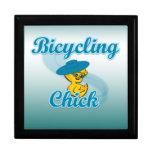 Polluelo que monta en bicicleta #3 caja de regalo