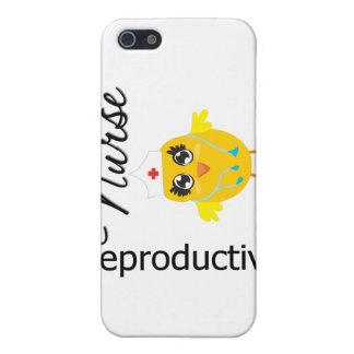 Polluelo reproductivo v1 de la enfermera iPhone 5 cárcasas