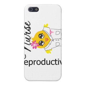 Polluelo reproductivo v2 de la enfermera iPhone 5 coberturas