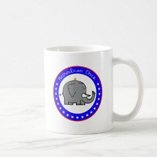polluelo republicano taza clásica