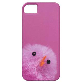 Polluelo rosado de Pascua Funda Para iPhone SE/5/5s
